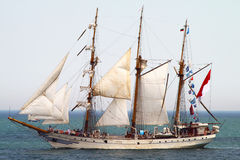 HISTORICAL SEAS TALL SHIPS REGATTA 2010 royalty free stock images