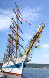 HISTORICAL SEAS TALL SHIPS REGATTA 2010 Royalty Free Stock Photo