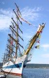 HISTORICAL SEAS TALL SHIPS REGATTA 2010 royalty free stock photo