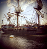 Historical ship Royalty Free Stock Images