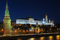 Historical Sights - Moscow Kremlin, Russia Stock Photography