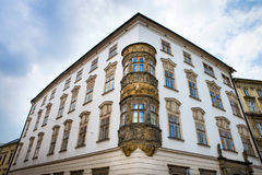Historical sights of Olomouc in the Czech Republic. European city Stock Image