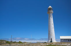 The Historical Slangkop Lighthouse Royalty Free Stock Photos