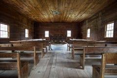 Historical Smoky Mountain Baptist Church Stock Image