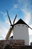 Historical Spanish windmill Royalty Free Stock Images