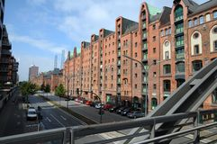 Historical speicherstadt in hamburg Stock Image