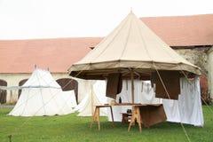 Historical spokes tent Stock Image