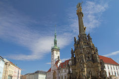 The historical square of Olomouc (Czech Republic) Royalty Free Stock Image