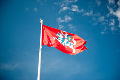 Historical state flag of Lithuania Stock Photo