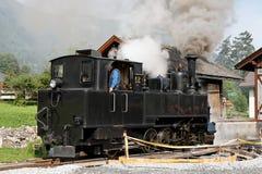 Historical steam engine train  Royalty Free Stock Photos