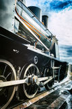 Historical steam engine train Royalty Free Stock Photo