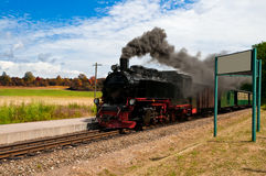 Historical steam train in Northern Germany Stock Photography