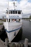 Historical steamer Sandon Stock Images