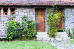 Historical Stone House Bento Goncalves Stock Photo