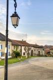 Historical street in Avioth, France Stock Photo