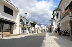 Historical street Matsumoto Nagano Japan Royalty Free Stock Images