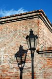 Historical streetlight Royalty Free Stock Image
