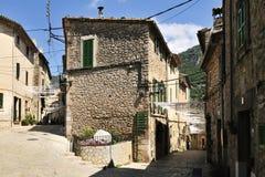 Historical Streets in Valldemosa Stock Photo