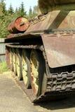 Historical T34 tank Stock Photo