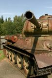 Historical T34 tank. In the museum Royalty Free Stock Photos