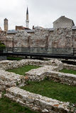 Historical Taslihan ruins, Sarajevo, Bosnia and Herze Stock Photos