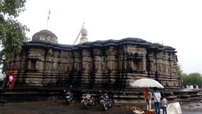 Historical Temple of mankeshwar Stock Photo