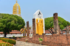 Historical temple. This is a photo of a historical temple in Thailand Royalty Free Stock Photography