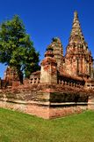 Historical temple in thailand, Asia. Historical temple in thailand, Ayutthaya Royalty Free Stock Image
