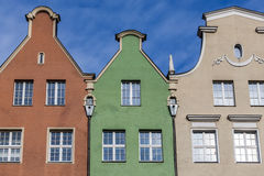 Historical tenement house - Gdansk, Poland Stock Photography