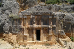 Historical tombs in the mountains Stock Photography