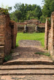 Historical Tourist Attraction. Ancient Ruins at Wiang Kum Kam in Chiangmai Thailand Royalty Free Stock Photo
