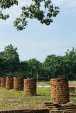 Historical Tourist Attraction. Ancient Ruins at Wiang Kum Kam in Chiangmai Thailand Royalty Free Stock Image