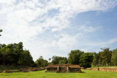 Historical Tourist Attraction. Ancient Ruins at Wiang Kum Kam in Chiangmai Thailand Stock Images