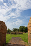 Historical Tourist Attraction. Ancient Ruins at Wiang Kum Kam in Chiangmai Thailand Royalty Free Stock Images