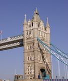 The historical tower bridge Royalty Free Stock Photography