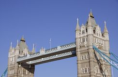 The historical tower bridge Stock Photography