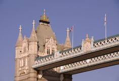 The historical tower bridge Stock Images