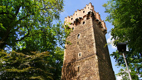 Historical tower in Cieszyn royalty free stock image