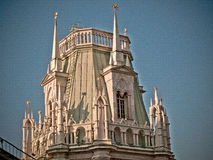 Historical tower closeup Royalty Free Stock Photography