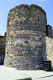 Historical tower on Conwy Castle in North Wales Royalty Free Stock Photography