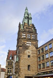 Historical tower in Munster, Germany Royalty Free Stock Images