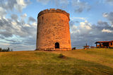 Historical tower in Varadero Stock Image