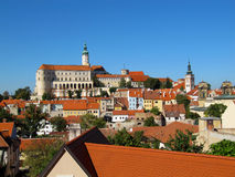 Historical Town on The Border With Austria, Mikulov, Czech Republic, Stock Photography