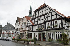 Historical town center of Rietberg, Germany Royalty Free Stock Photo