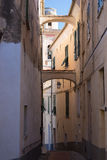 Historical town in Italy, architecture travel destination Royalty Free Stock Images