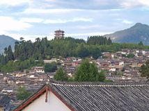A historical town - Lijiang. China, named as a World Cultural Heritages by UNESCO in 1997 stock images