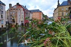 Historical town Metz. Stock Photography