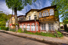 Historical town Sopot Stock Photography