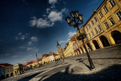 Historical town square Stock Photos