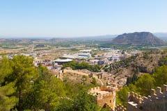 Historical town of Xativa, Valencia region, Spain. Stock Photo